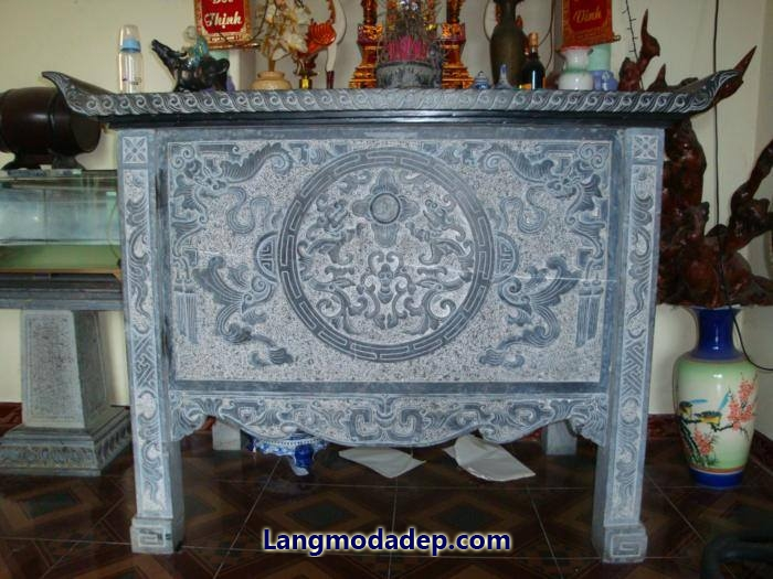Bàn lễ bàn thờ đá LMD 03