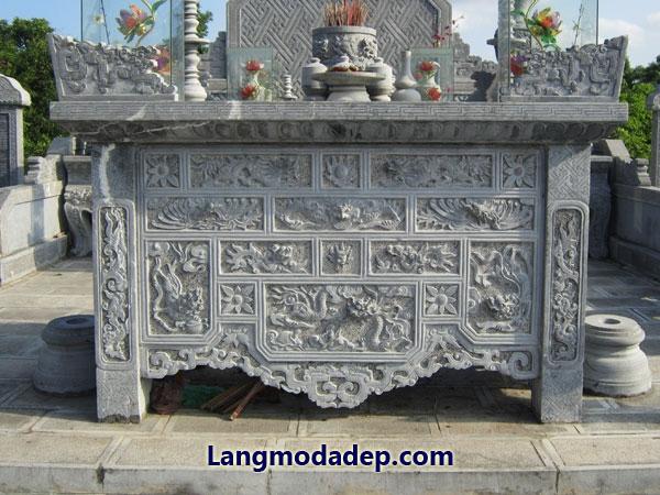 Bàn lễ bàn thờ đá LMD 04