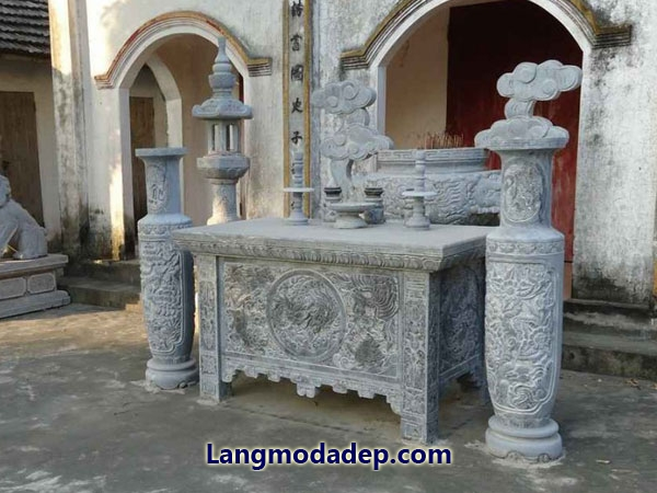 Bàn lễ bàn thờ đá LMD 05