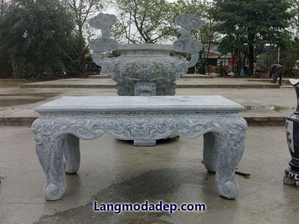 Bàn lễ bàn thờ đá LMD 06