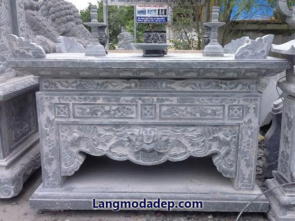 Bàn lễ bàn thờ đá LMD 22