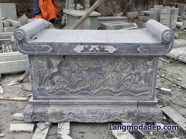 Bàn lễ bàn thờ đá LMD 12