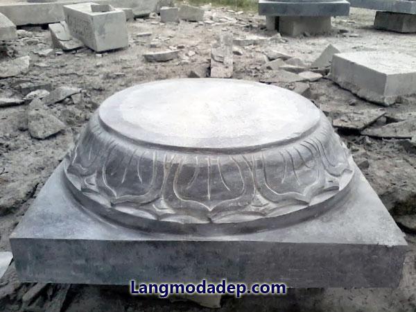 Chân tảng để kê cột đá LMD 06
