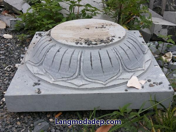 Chân tảng để kê cột đá LMD 07