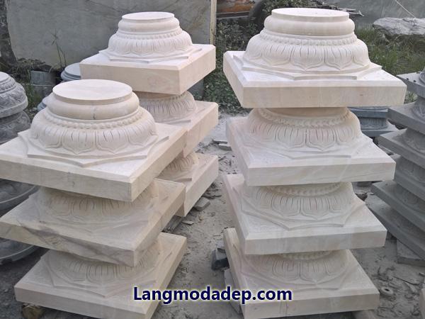 Chân tảng đế kê cột đá LMD 14