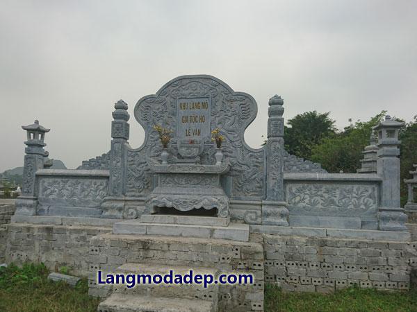 Long đình lăng thờ đá LMD 11