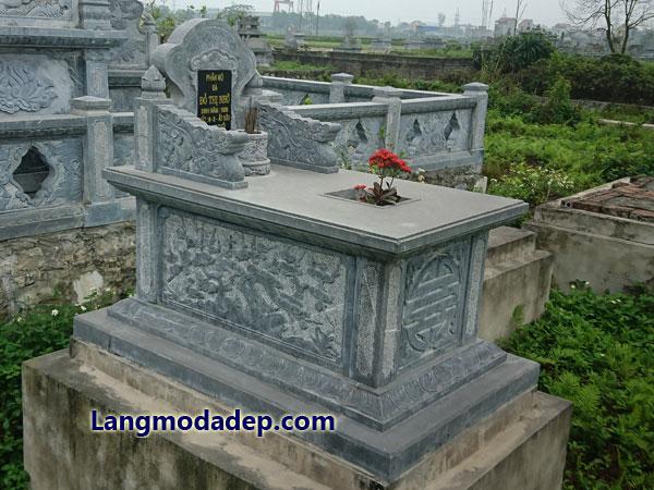 Mộ đá đơn giản giá rẻ LMD 12