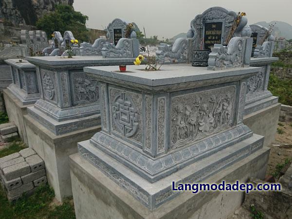 Mộ đá đơn giản giá rẻ LMD 15