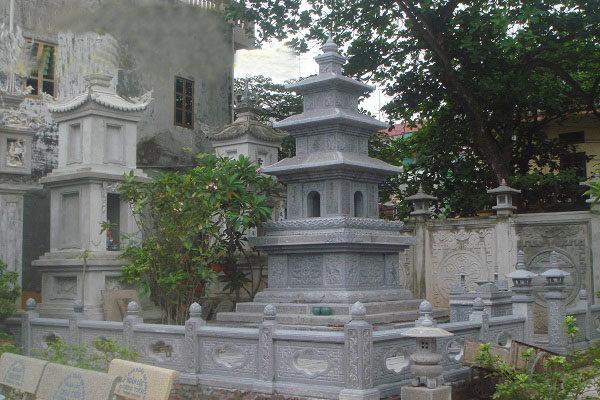 Mộ tháp đá LMD 0