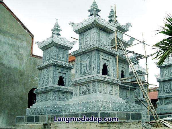 Mộ tháp đá LMD 10