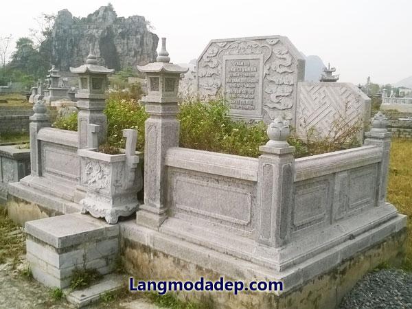 Mộ tổ bằng đá LMD 04