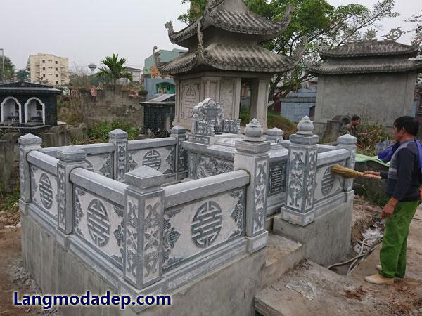 Nghĩa trang gia đình lăng mộ dòng họ LMD 10