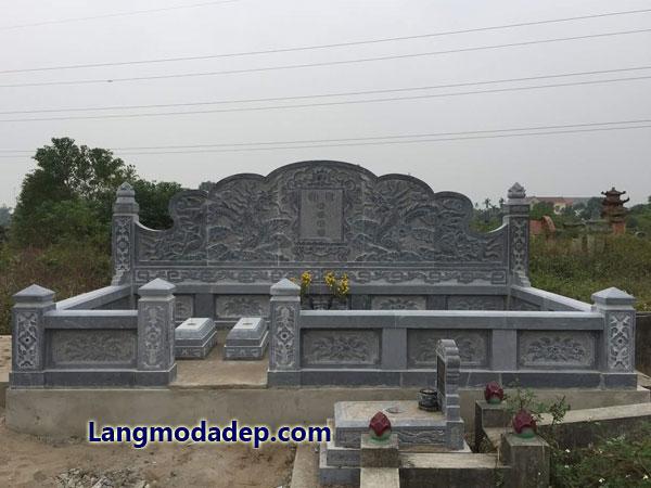 Nghĩa trang gia đình lăng mộ dòng họ LMD 17
