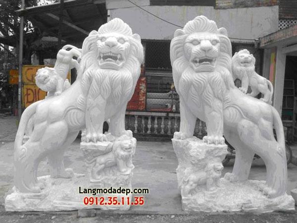 Sư tử đá LMD 08