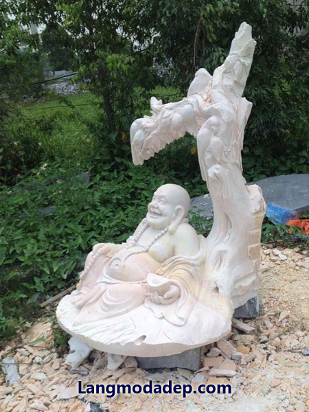 Tượng Phật Di Lặc đá LMD 01