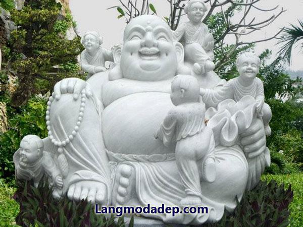 Tượng Phật Di Lặc đá LMD 02