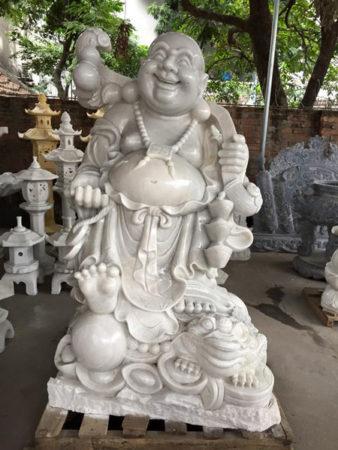Tượng Phật Di Lặc đá LMD 03