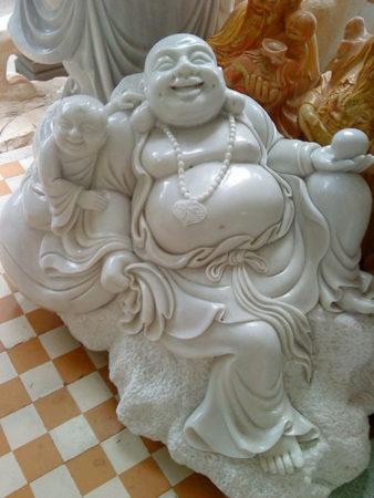 Tượng Phật Di Lặc đá LMD 06
