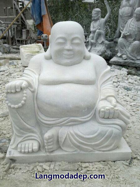 Tượng Phật Di Lặc đá LMD 07