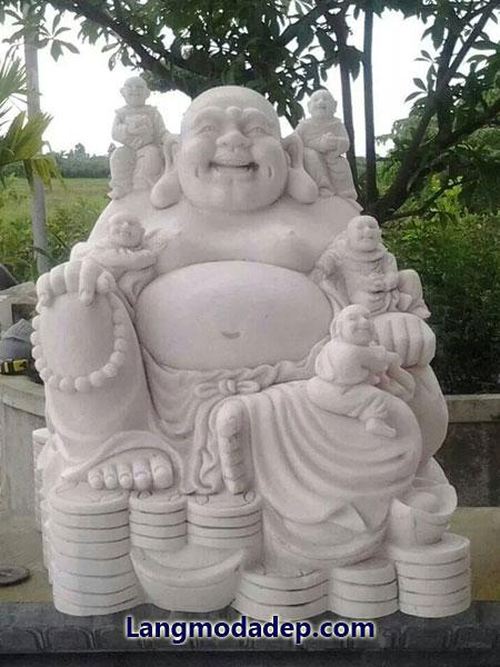 Tượng Phật Di Lặc đá LMD 08