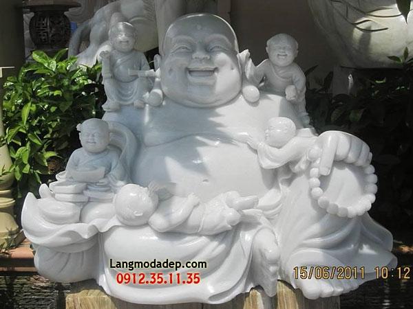 Tượng Phật Di Lặc đá LMD 09