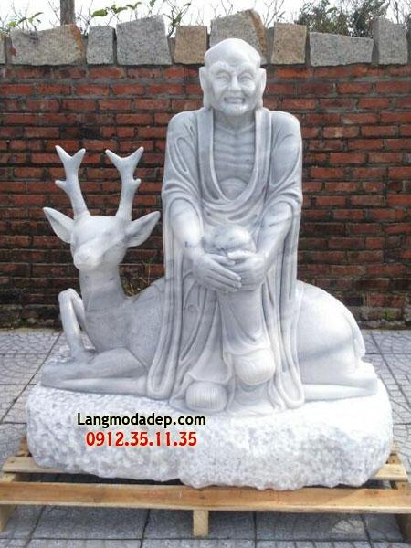 Tượng La Hán đá LMD 03