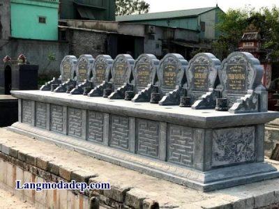 Bia mộ đá kích thước chuẩn phong thủy